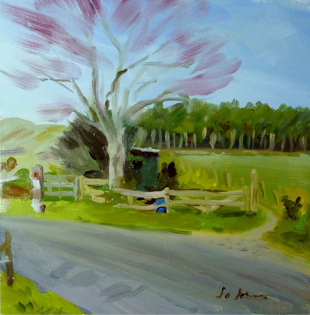 photo of tree painting