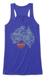 Australia T Shirt Design