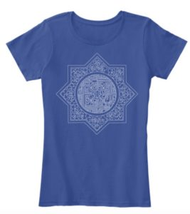 Art Deco Star T Shirt design