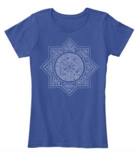 Art Deco Star T Shirt design